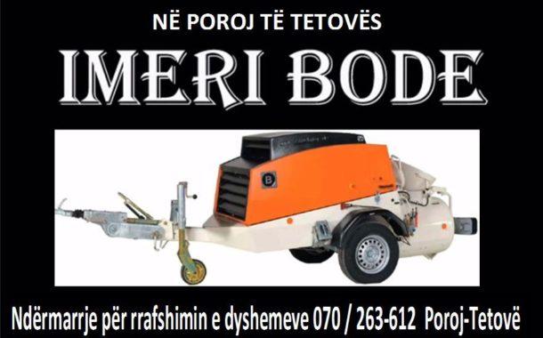 Imeri Boden në Poroj të Tetovës / Le të jetë ky Fitër Bajram i pëbashkët për të gjithë!