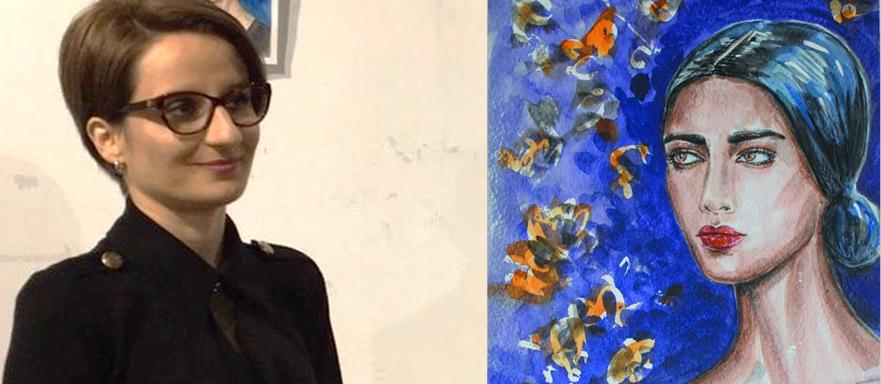 Ehdina Skenderi nga Tetova ekspozoi 40 punime me portrete të punuara në teknikën vizatim në letër