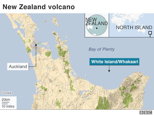 Shkon në pesë numri i të vdekurve nga vullkani në Zelandën e Re