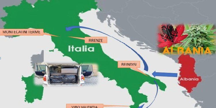 EMRAT / Arrestohen disa shqiptarë në Itali, dyshime për lidhje me Ndraghetan