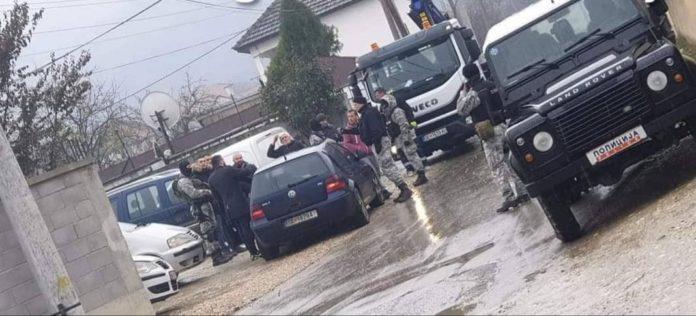 Detaje nga aksioni policor në Shkup dhe rrethinë