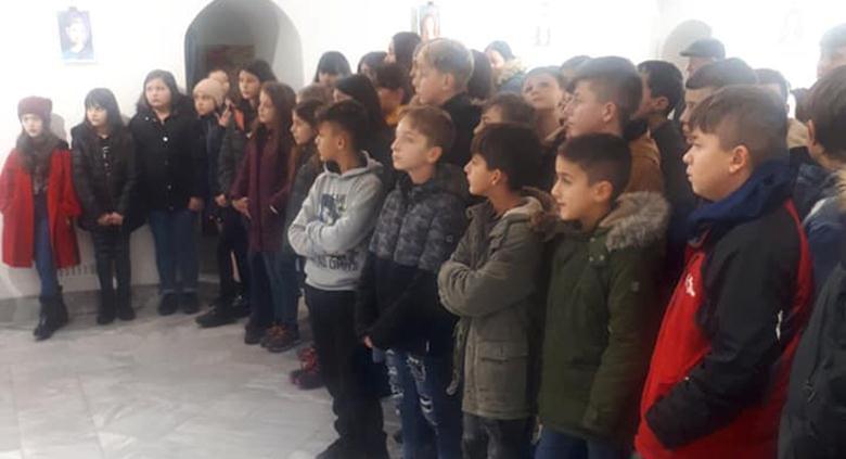 Nxënësit e  Zhelinës në Galerinë e Arteve Pamore në Tetovë