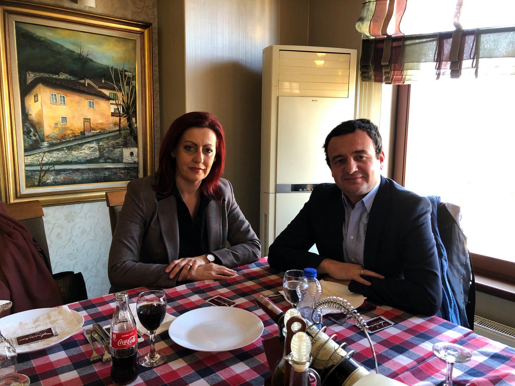 Kurti merr përkrahjen e deputetes boshnjake Emilia Rexhepi për formimin e Qeverisë së Re