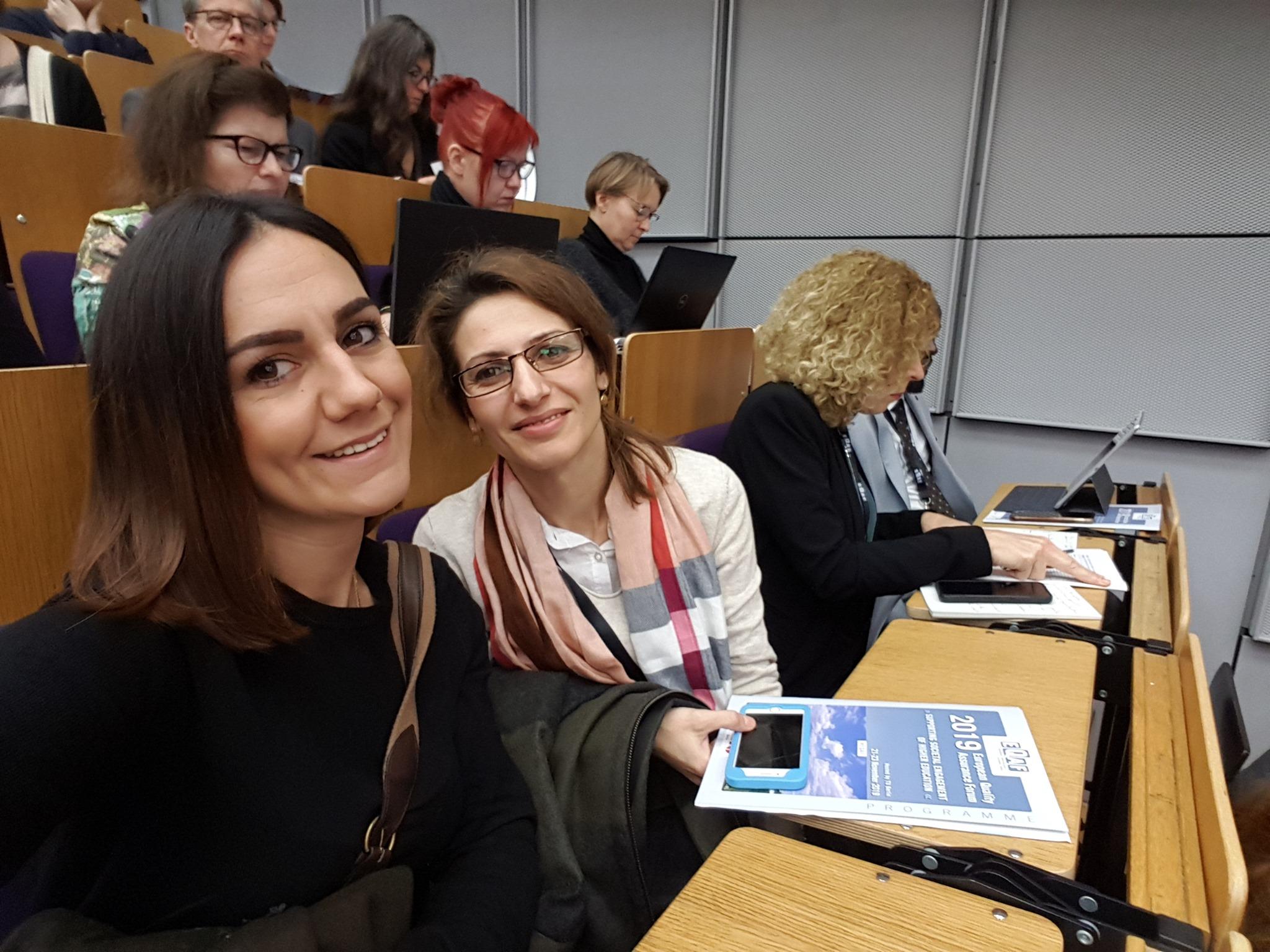 UT pjesëmarrës në Forumin e 14-të Evropian të Sigurimit të Cilësisë
