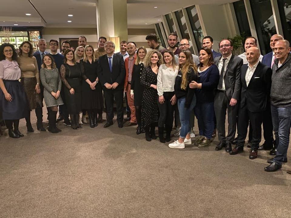 Lazim Destani në takim me 60 mjek shqiptarë që punojnë në spitale e klinika të Gjermanisë
