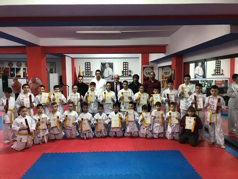 Klubi i karatesë Shkëndija në Tetovë