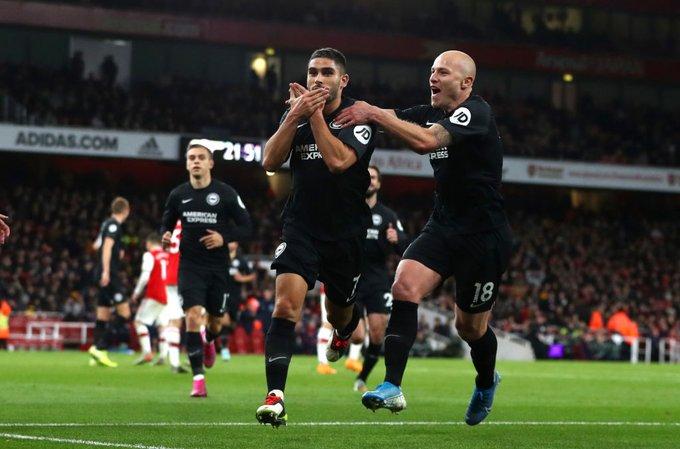 Trajneri i ri, loja e vjetër, Arsenali mposhtet në shtëpi nga Brightoni