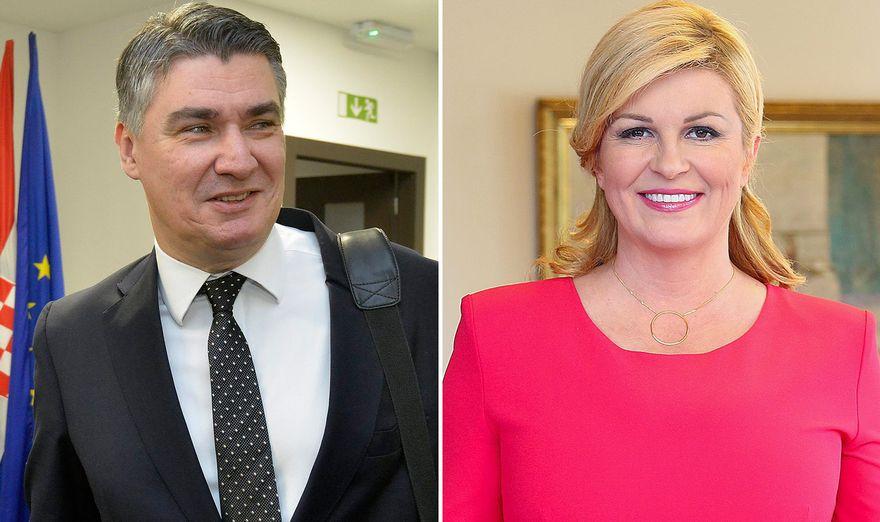 Zoran Milanoviq dhe Kolinda Grabar-Kitaroviq shkojnë në balotazh