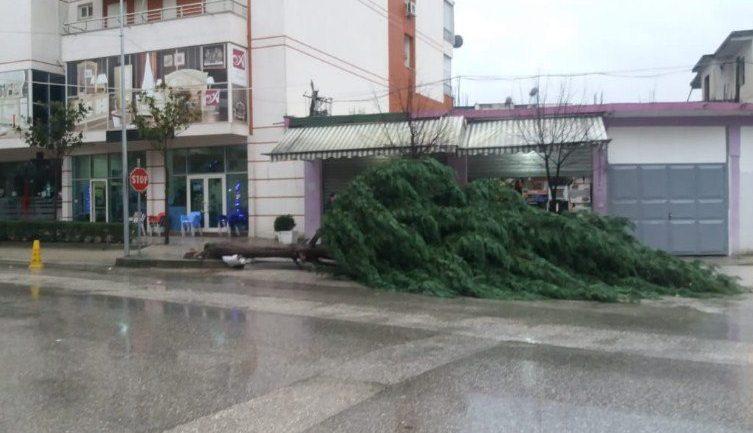 Shqipëria goditet nga moti i keq, vështirësohet qarkullimi në qytete