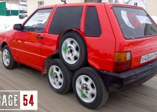 Fiat Uno me 8 rrota