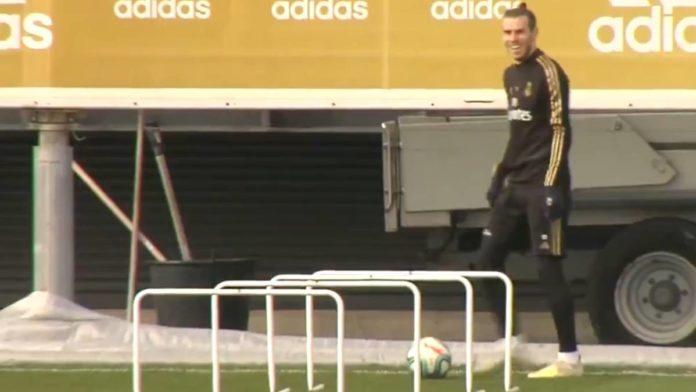 Bale tërbon tifozët e Realit, vazhdon të luajë golf në stërvitje (VIDEO)