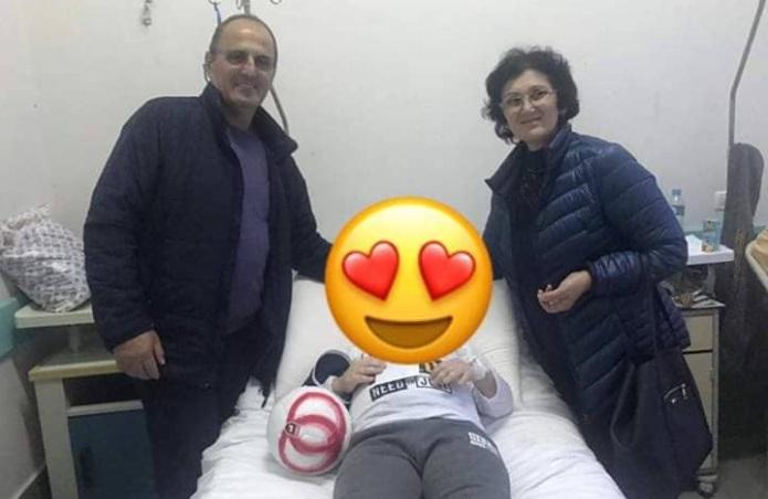 Fëmija i plagosur nga tërmeti kërkoi futbollistin Armando Sadiku, ja surpriza në spital