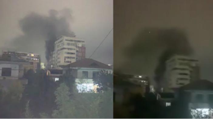 Digjen 3 makina në Tiranë, banorët në panik