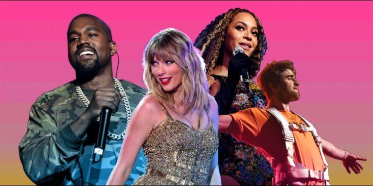 """Këta janë muzikantët me fitimet më të larta të Dekadës, sipas """"Forbes"""""""