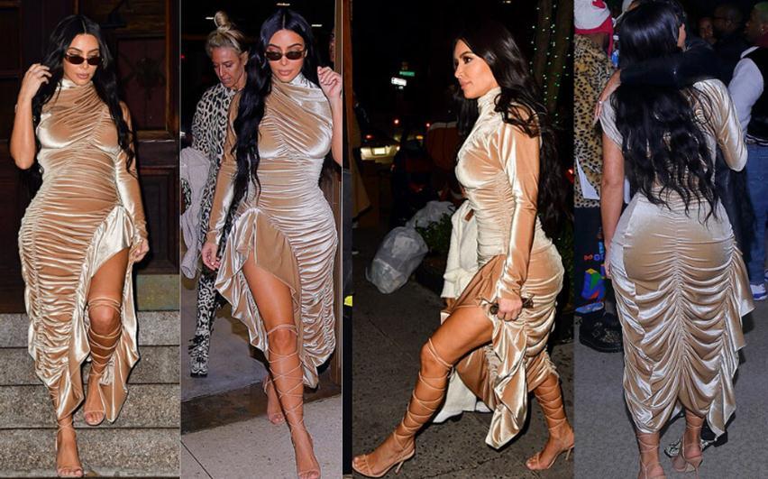 Pa koment! Kohë absolute e Kim Kardashian!