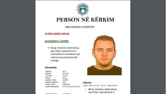 Policia kërkon ndihmë për të arrestuar Elton Arifin