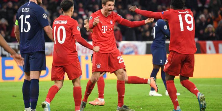 Muller nuk fal në zonë, Bayerni po kryeson ndaj Tottenhamit (VIDEO)
