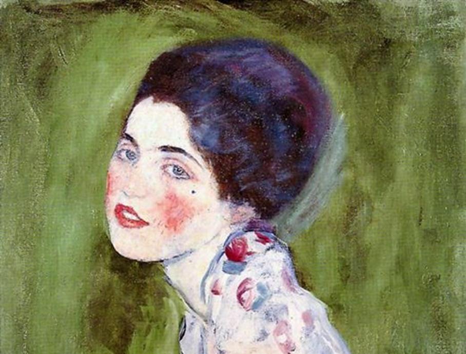 Gjendet pas 23 vjetësh e fshehur pas derës së një galerie italiane arti portreti i një gruaje