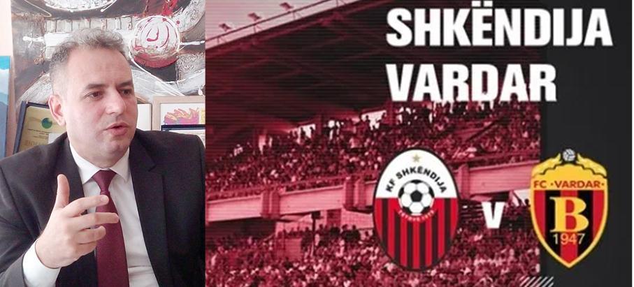 8 vite që luajnë Shkëndija-Vardari, nuk më kujtohet të kishte refer kryesor apo anësor shqiptar!