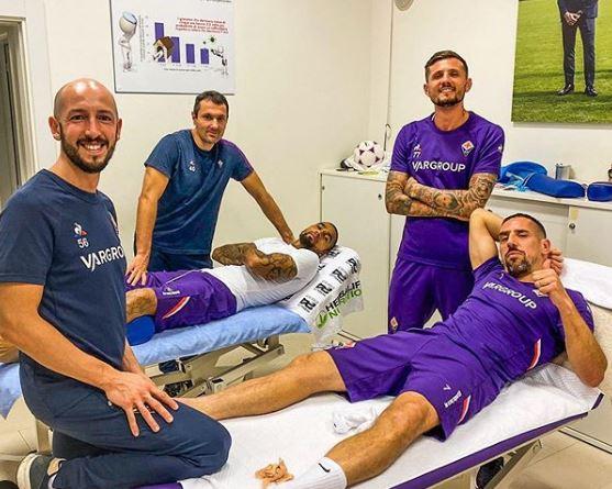 U dëmtua, Ribery ka një mesazh të fortë për tifozët e Fiorentinës