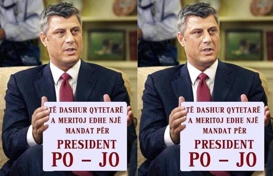 Më mirë Thaçi ose Mustafa për president?