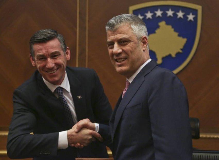 Prokuroria nis punën për kallëzimin penal kundër Thaçit e Veselit