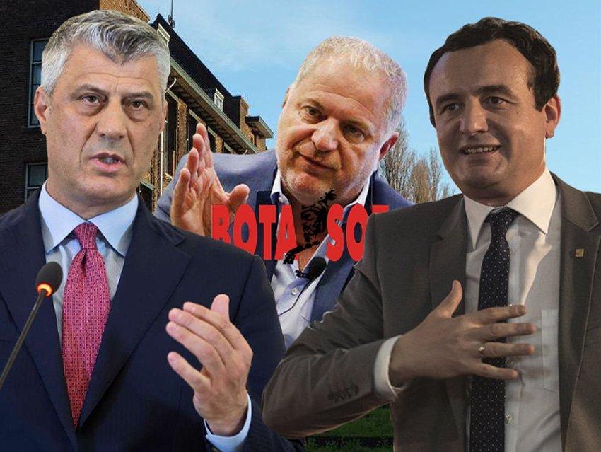 Mbështetja e ambasadorit Kosnett për koalicionin LVV-LDK nxiti reagimin e vetëm dy individëve në Kosovë, Thaçit dhe Baton Haxhiut