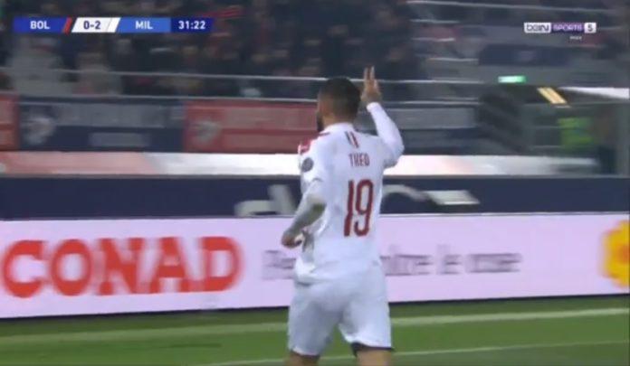 Theo Hernandez shënon edhe ndaj Bolognës (VIDEO)