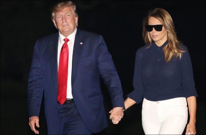 """Zonja e Parë """"braktis"""" Trump, e lë vetëm në shtrat"""
