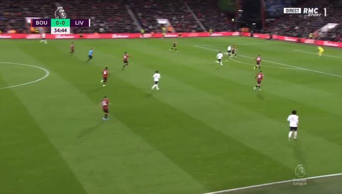 Goli i parë në takimin Bournemouth – Liverpool