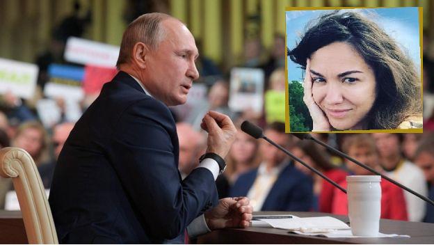 Gazetarja ruse humbet punën pasi i bëri pyetje presidentit Putin